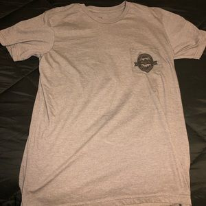 RVCA graphic tee with pocket